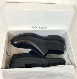 Calvin Klein Men's Udell Dress Calf Black Boots