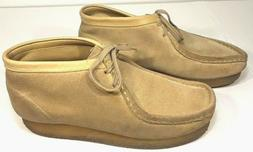 "Men's Clarks Wallabee ""Originals"" Suede Desert Boots T"