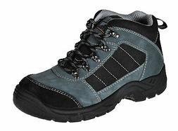 Mens Work Boots Safety Trekker Shoes Steel Toe Cap Slip Resi