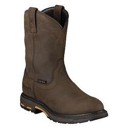 Ariat Mens WorkHog Waterproof Western Work Boot Distressed B