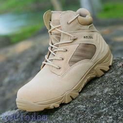 Military Ankle Boots Hiking Outdoor Shoes 9 Men's Tactical L
