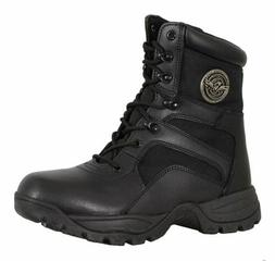 MILWAUKEE PERFORMANCE MENS LEATHER LACE TO TOE TACTICAL BOOT