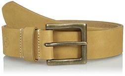 Timberland Men's 38 MM Boot Leather Belt, Wheat, 38