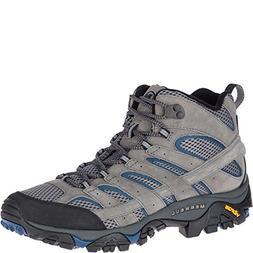 Merrell Men's Moab 2 MID Vent Sneaker, Castle/Wing, 10.5 M U