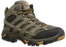 Merrell Men's Moab 2 Vent Mid Hiking Boot, Walnut, 9 M US