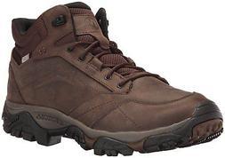 Merrell Men's Moab Adventure Mid Waterproof Hiking Boot, Dar