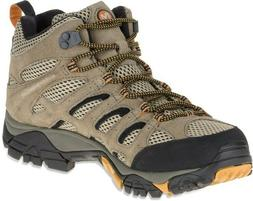Merrell Men's Moab Ventilator Mid Hiking Boot,Walnut,13 W US
