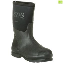 The Original MuckBoots Adult Chore Mid Boot,Black,Men's 10 M