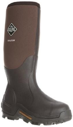 Muck Wetland Rubber Premium Men's Field Boots,Bark,Men's 8 M
