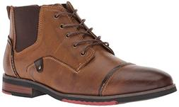 Steve Madden Men's Murdock Ankle Boot, Dark tan, 10 M US