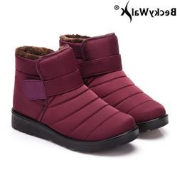 New 2018 women winter shoes unisex snow <font><b>boots</b></