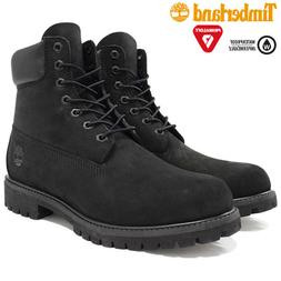 NEW Timberland Boots BLACK 6 Inch Premium Classic Mens Boots