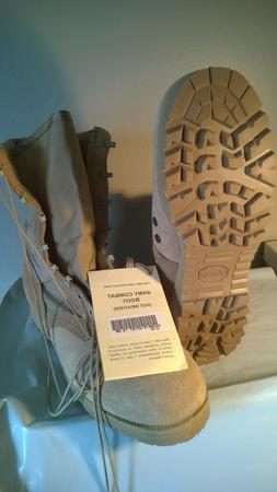 NEW BOOTS MEN'S, DESERT TAN GI COMBAT BOOTS