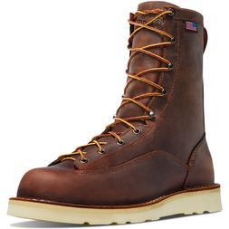 "NEW Danner Boots Men's 8"" Bull Run Round Toe 15556 All S"