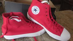 NEW Converse Chuck Taylor All Star II Boot Hi Canvas Red Blo