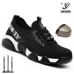 New <font><b>men</b></font> Steel Toe Work Safety Shoes <fon