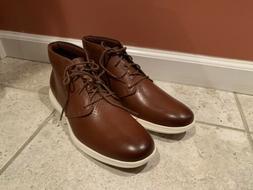 New Cole Haan Grand Tour Chukka C29589 Men's Size 10.5 Brown