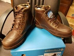 New in Box Columbia Men's Marquam Waterproof Boots Size 10 B