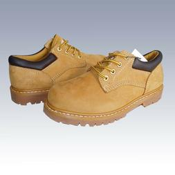 """NEW MEN'S """"KINGSHOW""""  4 INCH  NUBUCK LACE UP LOW TOP WORKING"""