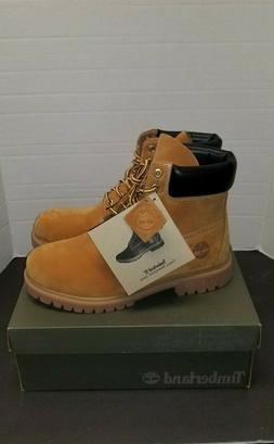 NEW MEN'S TIMBERLAND 6 INCH PREMIUM WATERPROOF WORKBOOT 1006