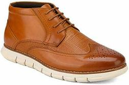 New Men's Ankle Fashion Dress Casual Lace Up  Chukka Genuine