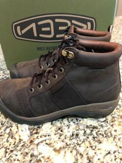 New Keen Men's Austin Mid Waterproof Boots Size 9.5 Style 10