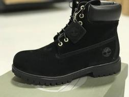 * NEW *TIMBERLAND MEN'S BLACK BOOTS FREE SHIPPING BRAND NEW