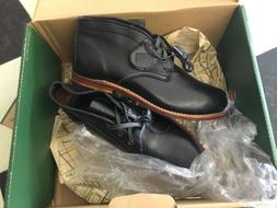 NEW WOLVERINE 1000 MILE Men's BLACK LEATHER Chukka Boots - M