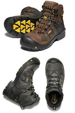 """NEW Keen Men's Dover 6"""" Waterproof Carbon Fiber Toe Non Slip"""