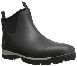 New Kamik Men's Larslo Short Rain Boot Black Size US 11 M