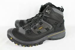 New Keen Men's Logan Mid Waterproof Hiking Boots 12m Black 1