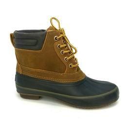 New Izod Men's Marsh Tan Ankle Duck Boots Brown Sz 8.5 Water