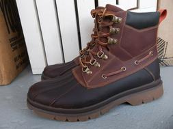 NEW MEN'S SPERRY TOP-SIDER WATERTOWN DUCK BOOTS SIZE 9.BRAND