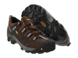 New Men's KEEN Utility Detroit Low Steel Toe ESD Work Boots