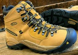 New Men's KEEN Utility Pittsburgh Steel Toe Work Boots WHEAT