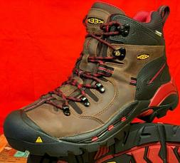 03aa7877a1cf56 New Men s KEEN Utility Pittsburgh Steel Toe Work Boots BISON