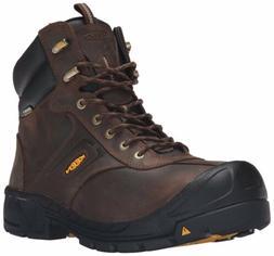 New Men's KEEN Utility Warren Waterproof Work Boots - CASCAD