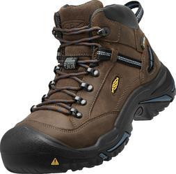 New KEEN Mens Braddock Mid AL Steel Toe Waterproof Work Boot