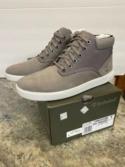 NEW MEN's Timberland Groveton Leather & Fabric Chukka SHOE