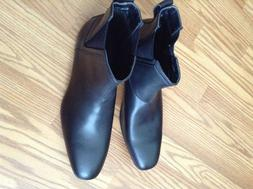 New Calvin Klein Mens Leather boots 10.5 NWT