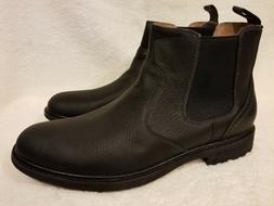 NEW CLARKS Mens Norse Chelsea Premium Leather Black Boots 62