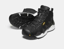New KEEN Mens San Antonio Mid Aluminum Toe Safety Work Boots