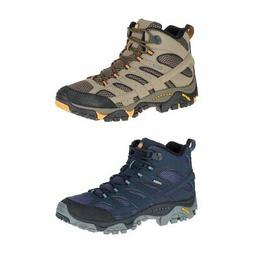 New Merrell Moab 2 Mid Gore-Tex Men's Medium Hiking Shoes Al