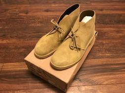 NEW Clarks Originals Men's Desert Boots Khaki Suede 26144162