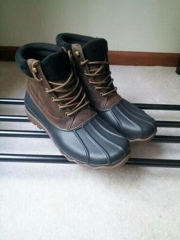 NEW Sperry Top-Sider Men Waterproof Duck Boots Brewster Size