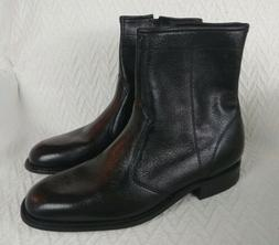 New Vintage GOODYEAR Mens Black Leather Hipster Ankle Beatle