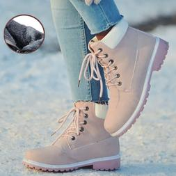 New Winter Women Ankle Snow <font><b>Boot</b></font> Leather