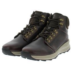 Khombu Nick Men's Leather Memory Foam Lightweight Hiker Boot