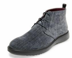 NWB Steve Madden Mens Size 10 MOKA Navy Suede Boots