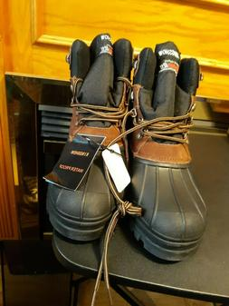 NWOB Kingshow Thermolite Waterproof Men's  Boots Size 10.5 S